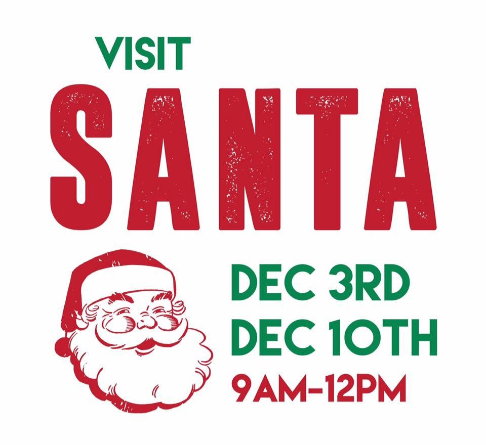 Santa in Snoqualmie, WA